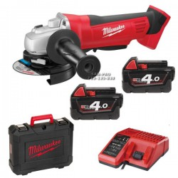 Milwaukee szlifierka kątowa HD18 AG-125 402C